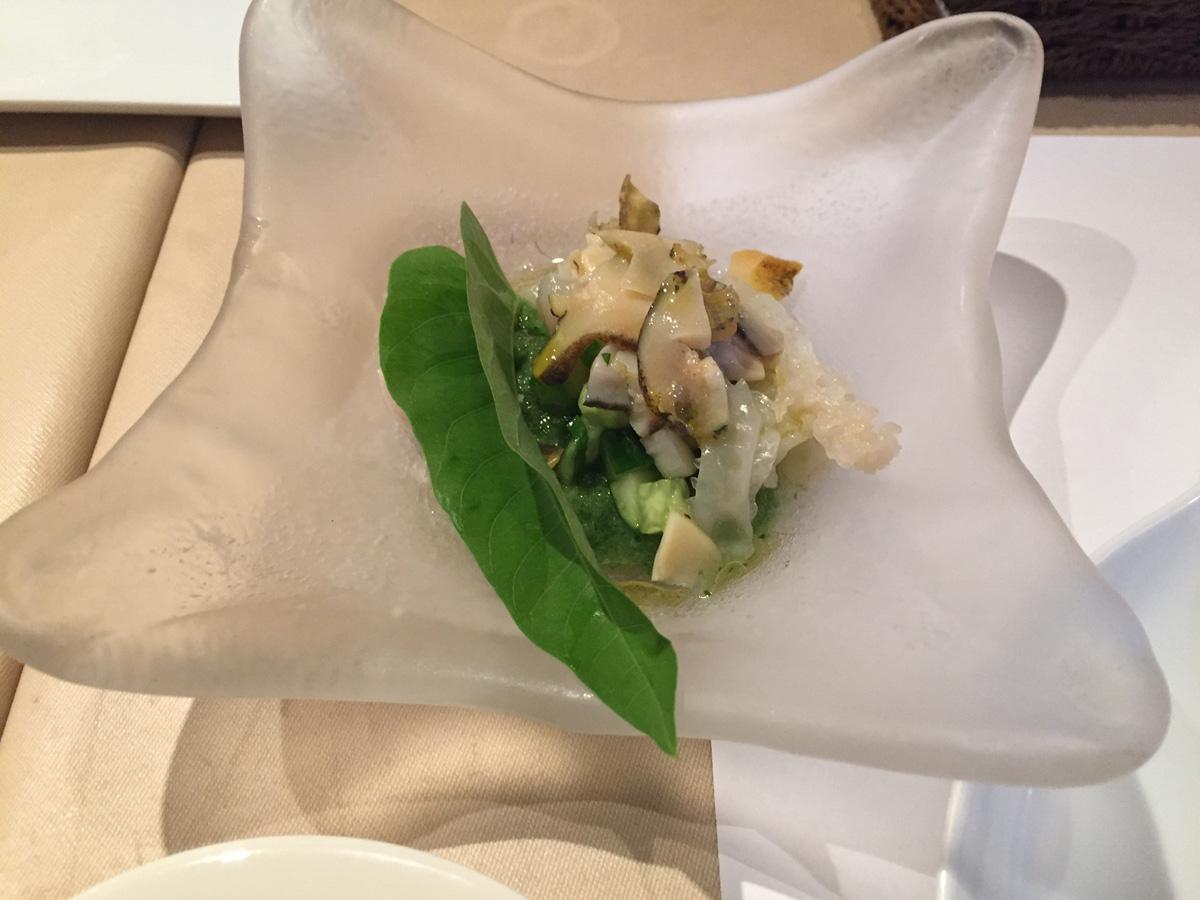 白いきくらげ「白美茸」料理(ガスパチョ)