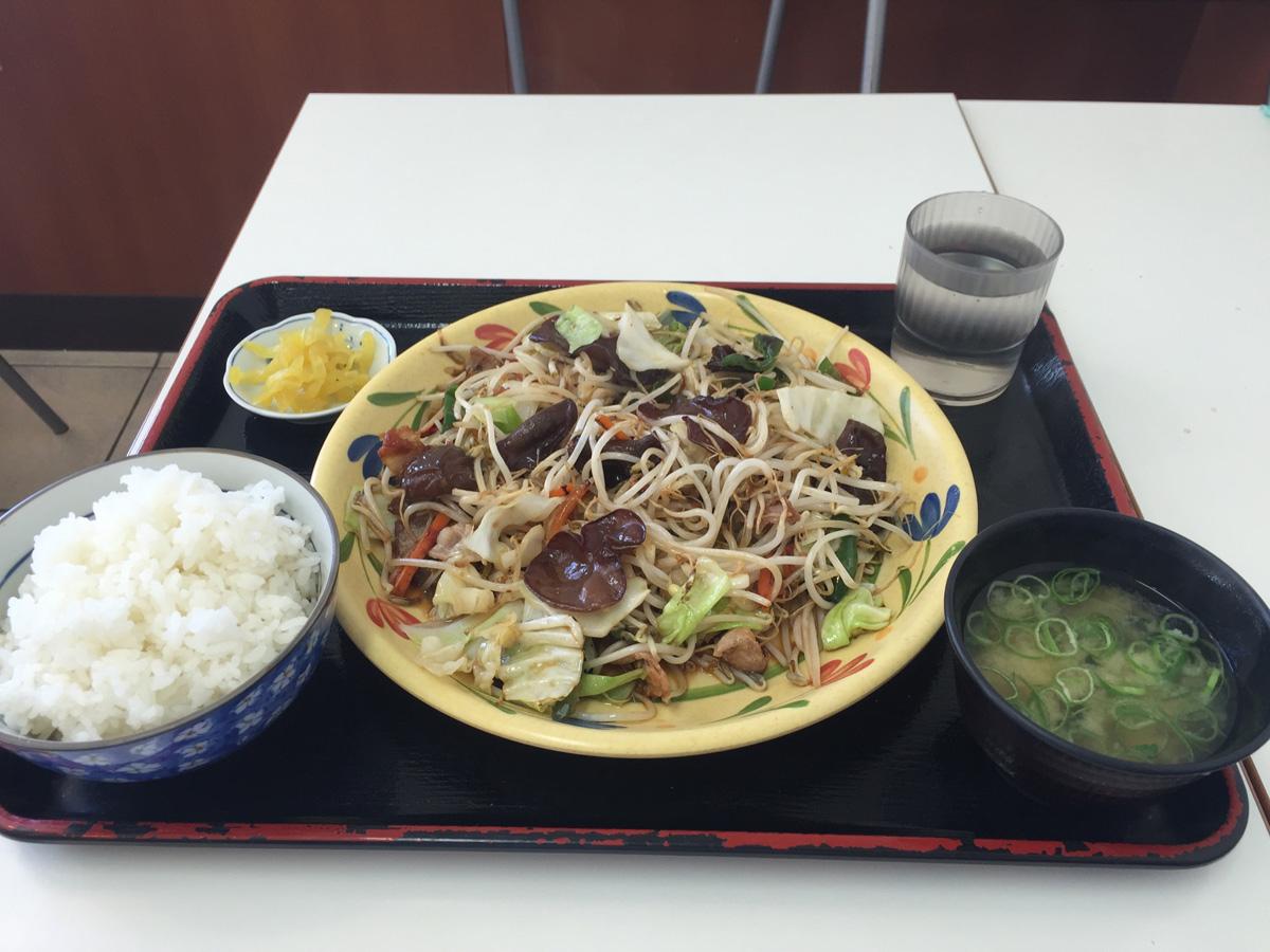 きくらげ料理(野菜炒め)
